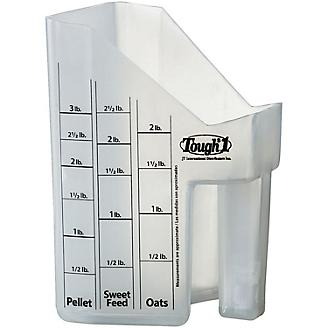 Tough1 Feed Scoop With Measurements