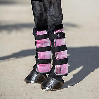 Kensington Fly Boots Fleece Trim Bubblegum