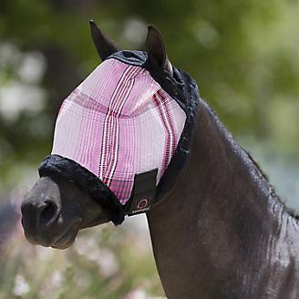Kensington Mini Fly Mask w/Fleece Trim Bubblegum