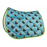 Lettia Embroidered Sloth All Purpose Saddle Pad