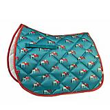Lettia Embroidered Hugging Horses All Purpose Pad