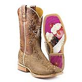 Tin Haul Ladies Square Toe Sunday Funday Boots