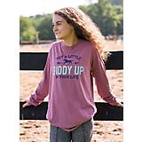 Stirrups Adult Giddy Up L/S Tee
