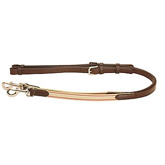 Tory 3/4in Leather and Elastic Side Reins