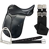 Blemished Silver Fox Dressage Saddle Package