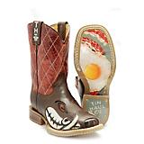 Tin Haul Kids Not Boaring Bacon/Eggs Boots