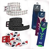 C4 Eventer Belts and Socks Bundle