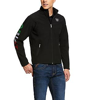 Ariat Mens Team Mexico Softshell Jacket
