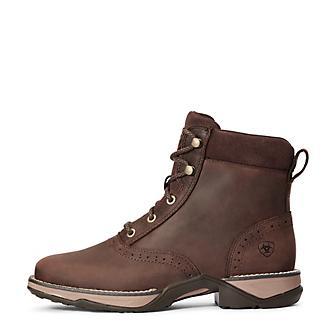 Ariat Ladies Anthem Square Toe Lacer Boots