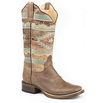 Roper Ladies Flex Mesa Sq Toe Boots