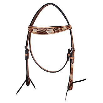 Oxbow Rawhide Arrow Browband Headstall