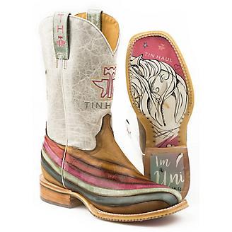 Tin Haul Ladies Over The Rainbow Boots