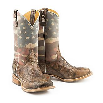 Tin Haul Mens Land of the Free Boots