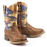 Tin Haul Kids Flaming Horses Boots