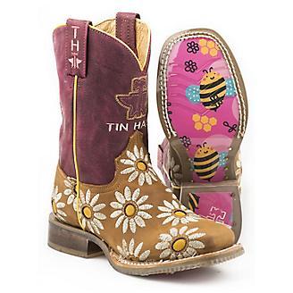 Tin Haul Kids Lil Blossom Boots