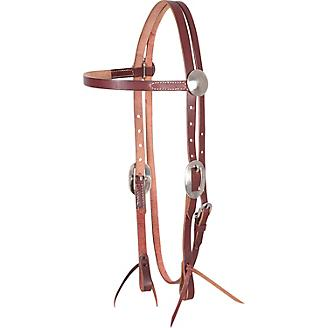 Cashel Roughout Browband Headstall