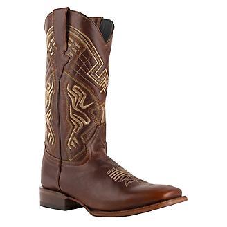 Ferrini Mens Roan Square Toe Boots