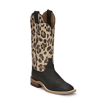 Justin Ladies Ardmore Square Toe Boots
