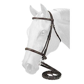 EquiRoyal Fancy Stitched Raised Bridle