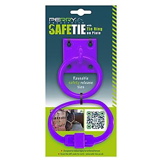Perry Equestrian SafeTie with Tie Ring Set
