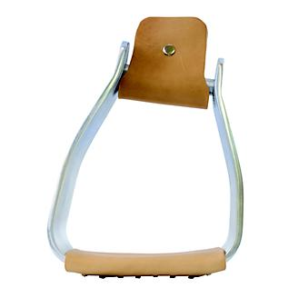 Equi-Sky 2 3/4in Wide Slanted Aluminum Stirrups