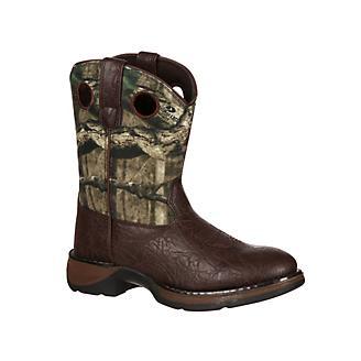 Durango Little Kids Camo Round Toe Boots