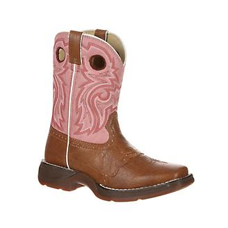 Durango Little Kids Lacey Sq Toe Boots