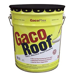 GacoRoof Silicone Roof Coating 5 Gallon
