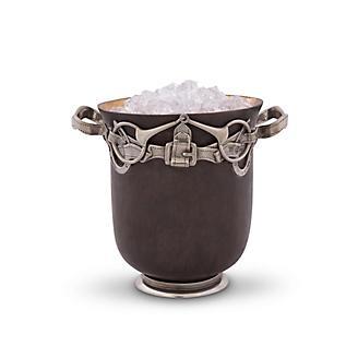 Vagabond House Equestrian Bronze Ice Bucket