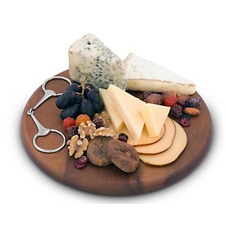 Vagabond House Equestrian Bit Cheese Board
