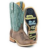 Tin Haul Ladies Puff Cactus Boots
