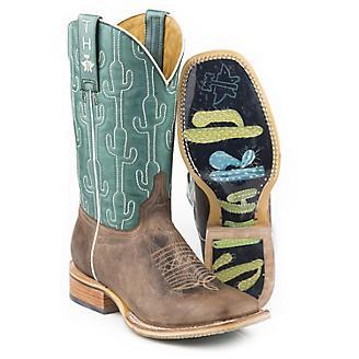 Tin Haul Ladies Puff Cactus Boots