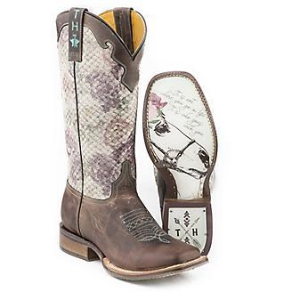 Tin Haul Ladies Rosealiscious Boots