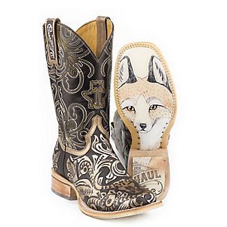 Tin Haul Ladies Golden Horns Boots