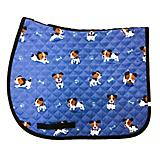 Lettia Embroidered Puppy Baby Pad Saddle Liner