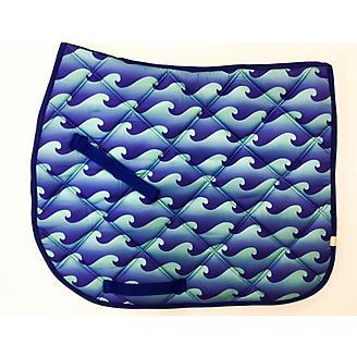 Lettia Embroidered Wave All Purpose Saddle Pad