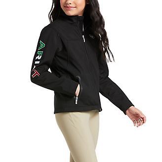 Ariat Youth TEAM Softshell Mexico Jacket