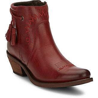 Justin Ladies Reba Nel Ankle Boots
