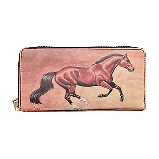 Lila Bay Horse Clutch Wallet