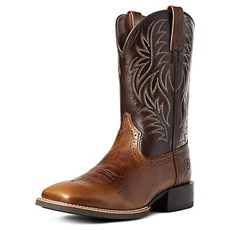 Ariat Mens Sport West Wide Sq Boots