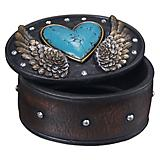 Hearts and Wings Trinket Box