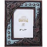 Leather with Studs 5x7 Photo Frame