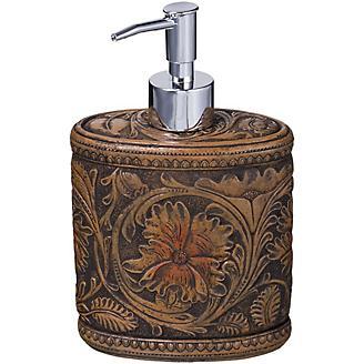 Leather Print Soap Dispenser