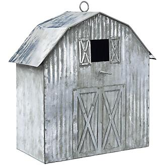 Antique Metal Birdhouse