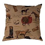 Huntley English Tapestry Decorative Pillow