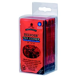 Belvoir STEP 1 Tack Cleaner Leather Wipes 15 ct