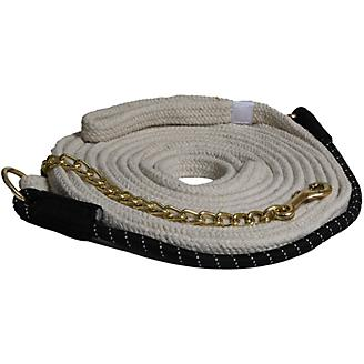 Mustang Cotton Lunge Line w/Bungee and Chain