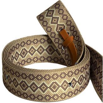 Mustang Fashion Print Snake Tie Strap