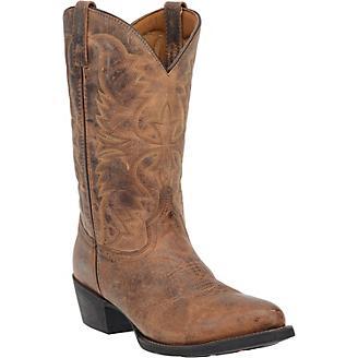 Laredo Mens Birchwood Rnd Toe Boots