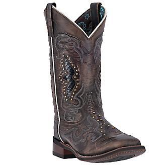 Laredo Ladies Spellbound Sq Toe Boots
